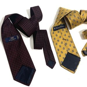 Brooks Brothers Tie Lot Of 2